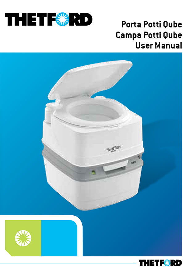 porta potti qube owners manual