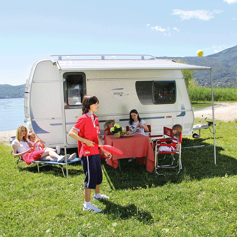 Fiamma Caravanstore 225 Royal Grey Awning