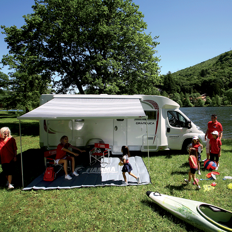 Fiamma F45 S 350 Deluxe Grey Awning