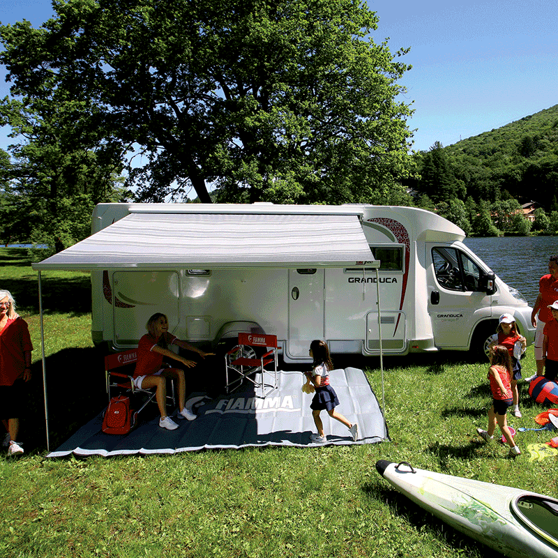 Fiamma F45 S 350 Bordeaux Awning