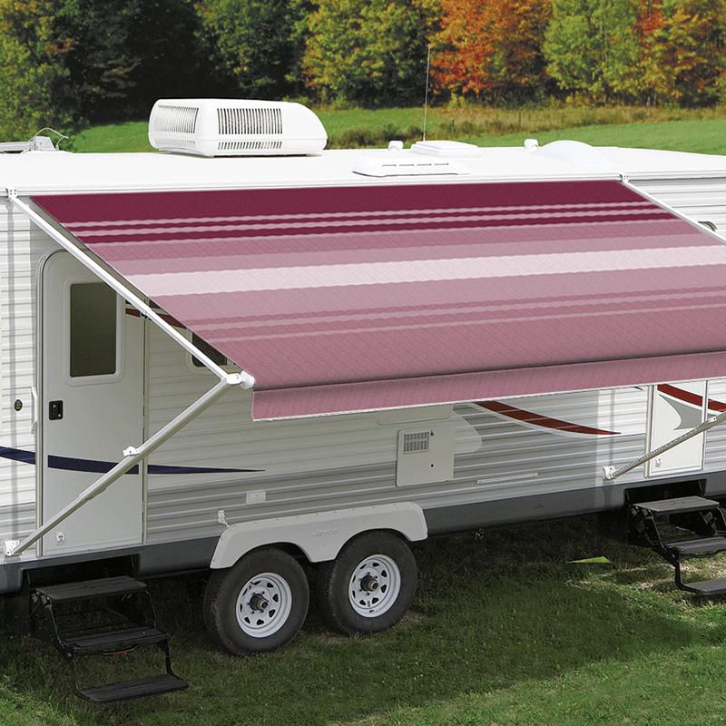 12ft Bordeaux Dune Roll Out Awning (No Arms)
