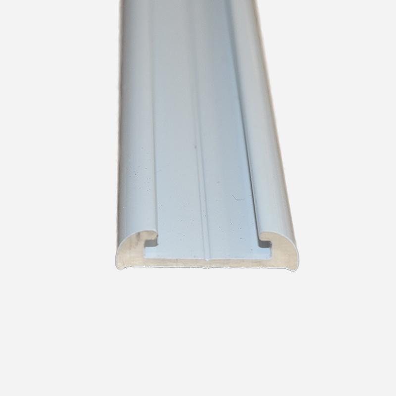 TRULINE FLAT ALUMINIUM WHITE Narrow 4.8 M