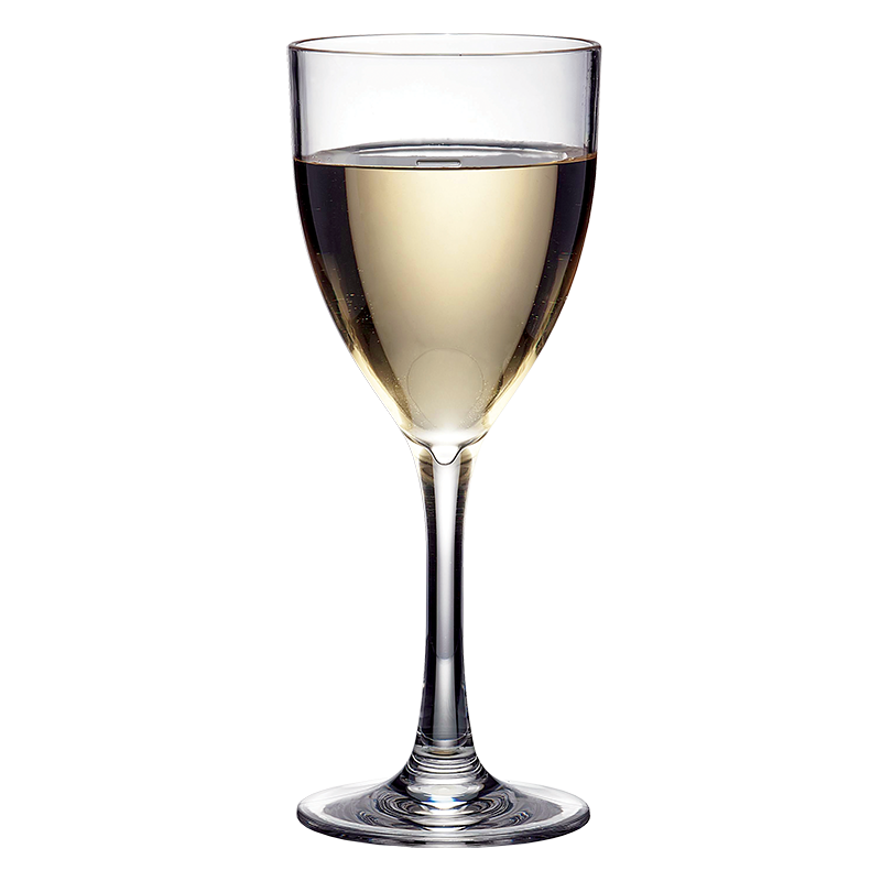 Polysafe Polycarbonate Glass Vino Blanco Goblet 250ml