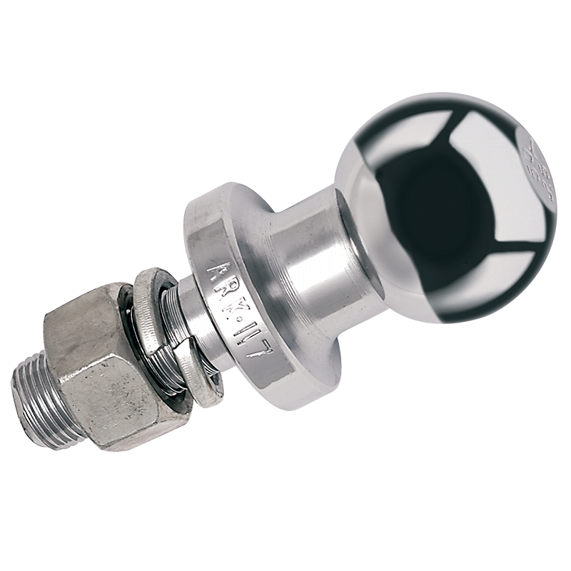 Chrome Plated Tow Ball - 3.5 ton, 62mm