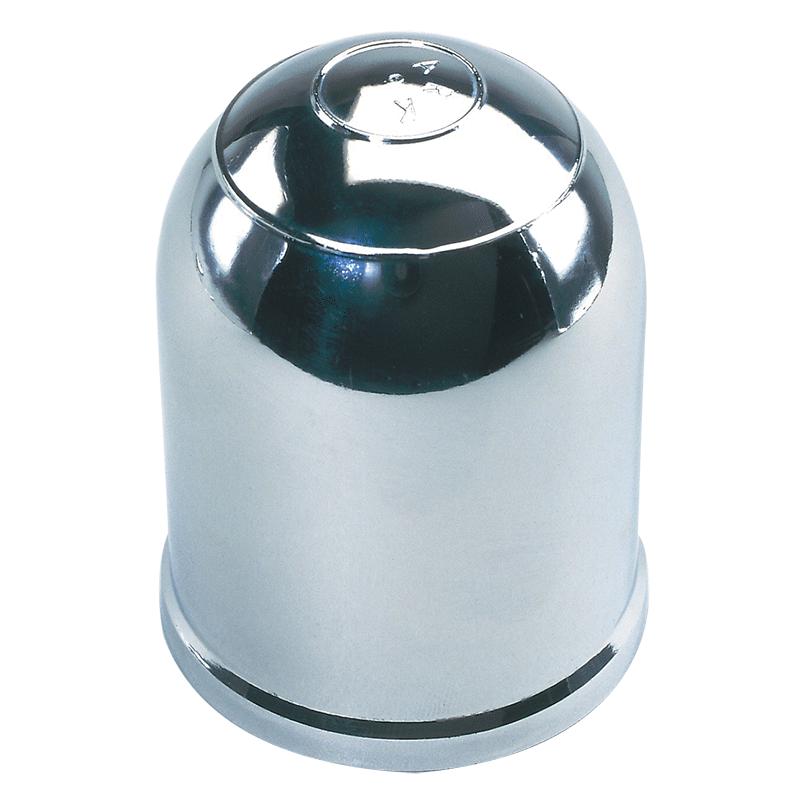 Chrome Clip-On Tow Ball Cover