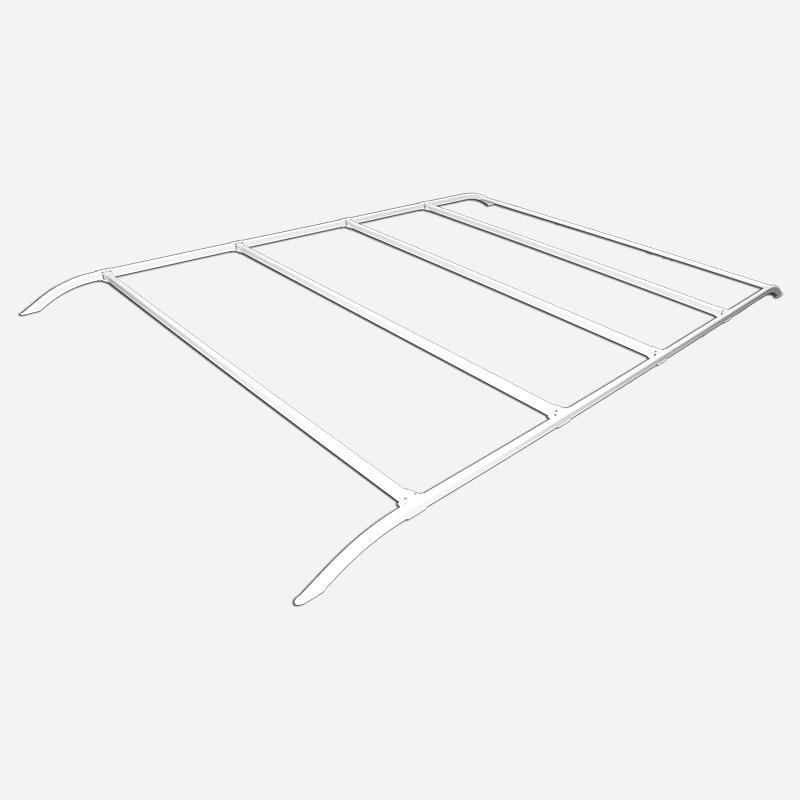 Coast Adjustable Roof Rack White