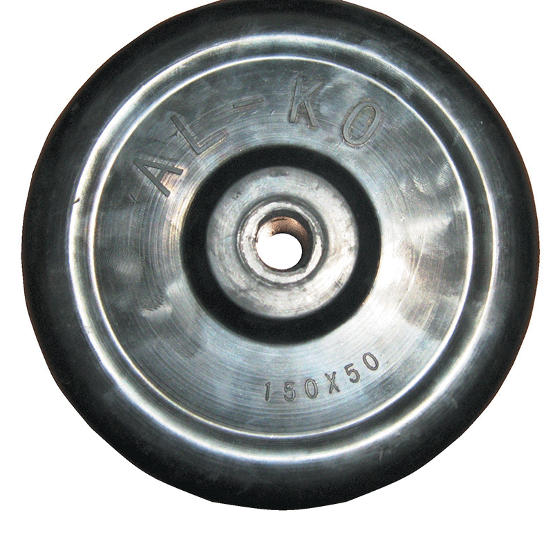 Alko 6 Quot Solid Rubber Wheel Only
