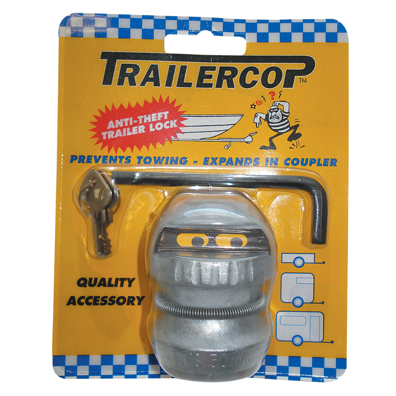 Trailer Cop Anti-Theft Coupling Lock