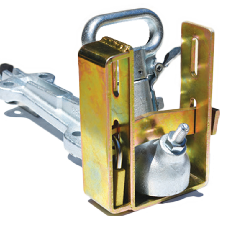 Dual Trailer Coupling Lock Heavy Duty - Inc. Padlock