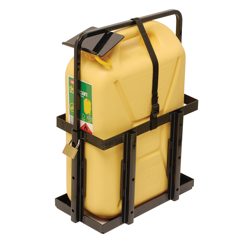 Ark Adjustable Jerry Can Holder (Anti Theft)