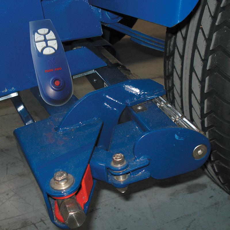 Reich Eco Caravan Mover - Twin Axle