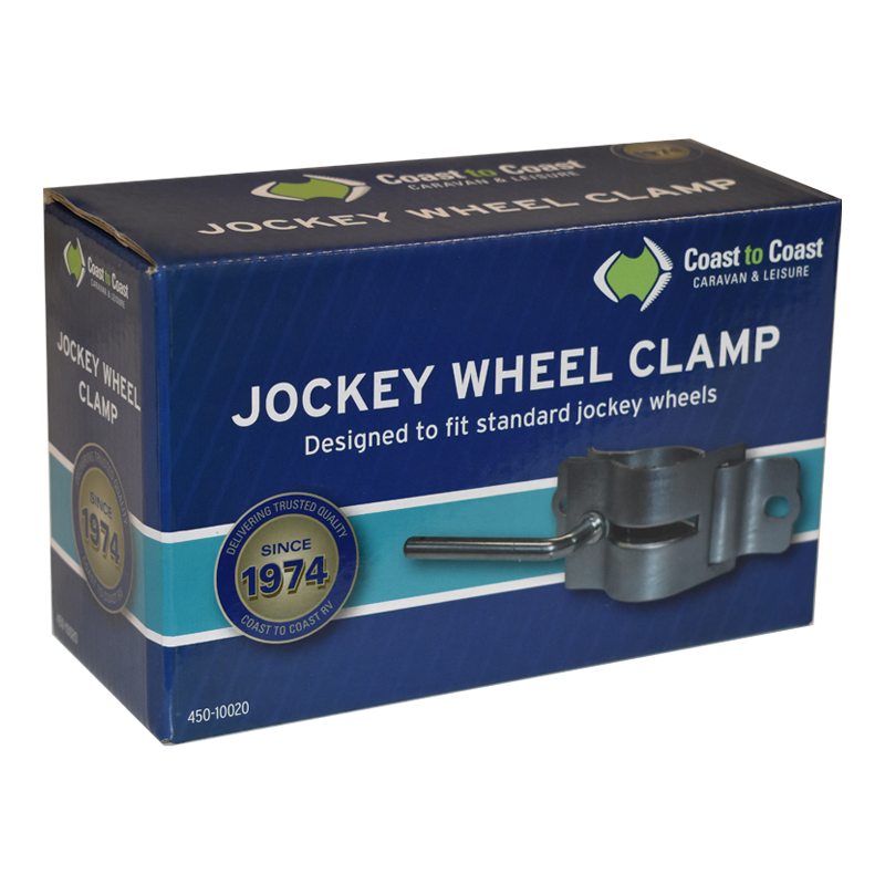 COAST Std Jockey Wheel Clamp (50mm/750lbs)