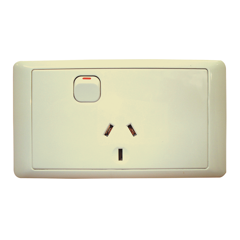 CMS Single Power Outlet (Beige)