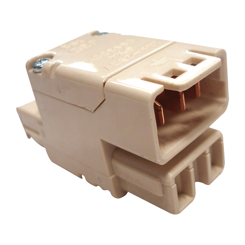 CMS Double Adapter Beige