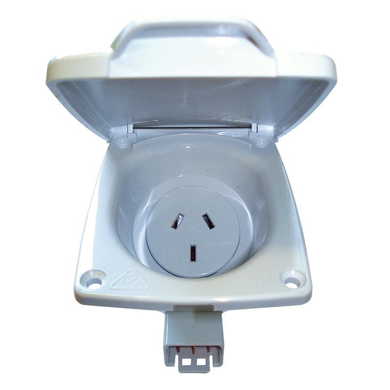 CMS 10AMP Double Pole Socket Outlet