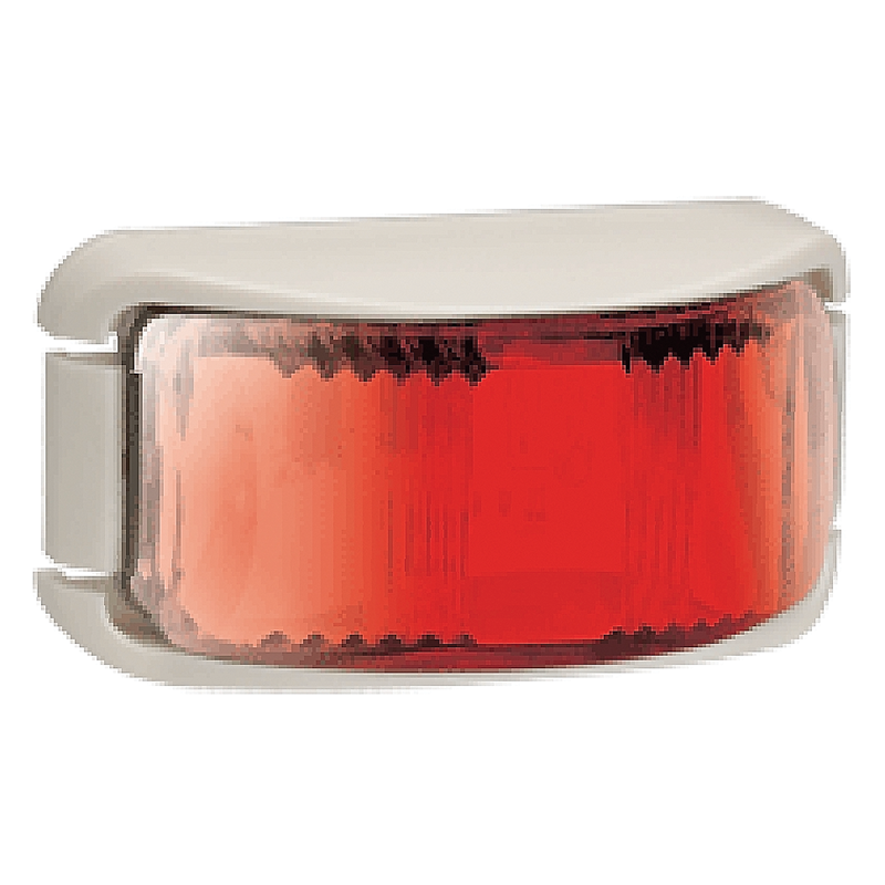 Narva L.E.D Rear Lamp Red - White Base.