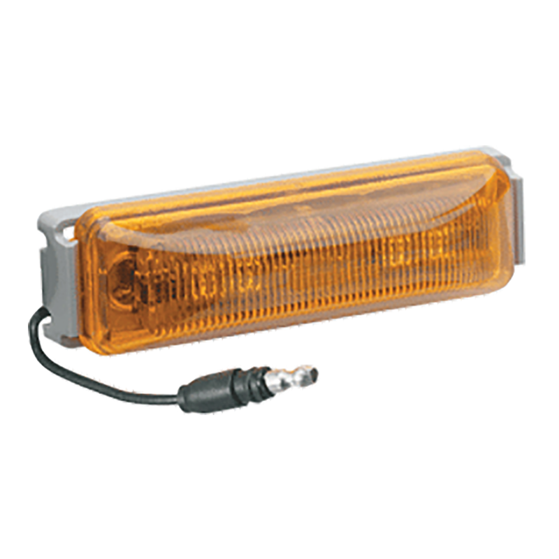 L.E.D. Sealed External Cabin Lamp (Amber)