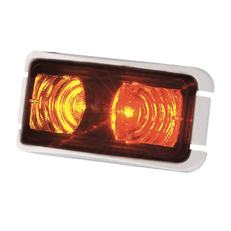 Coast LED Side Marker Lamp Red/Amber