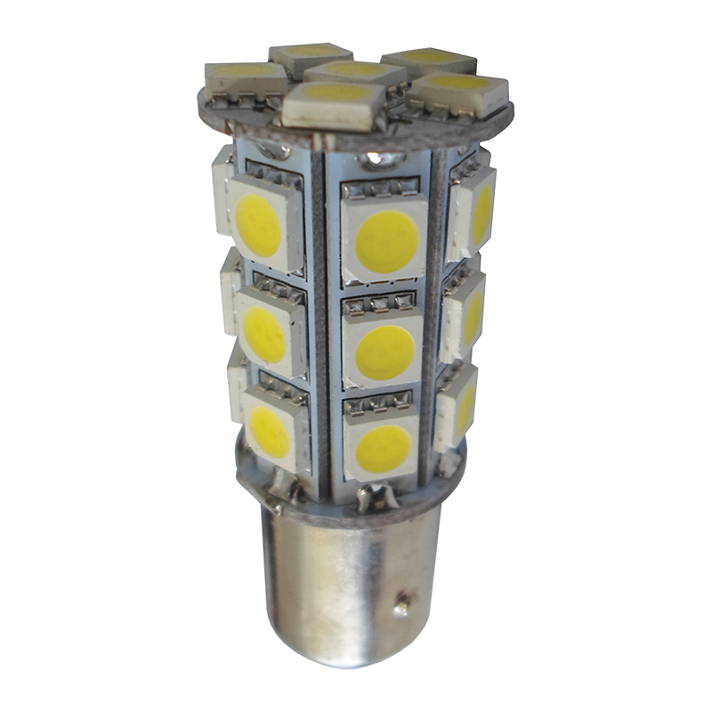 LED BA15D Replacement Bulb Double Contact Offset Pin