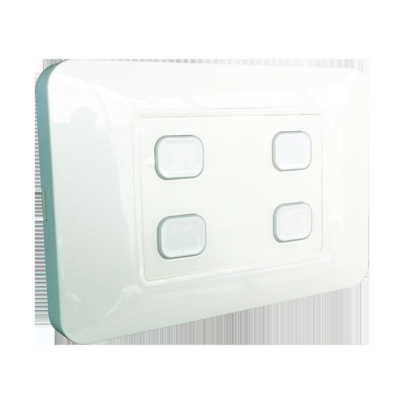 4-Gang Wireless Switch