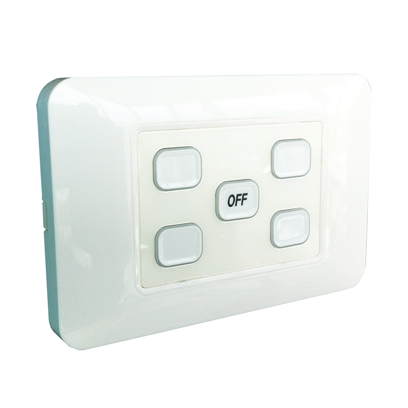 5-Gang Wireless Switch with Master Off