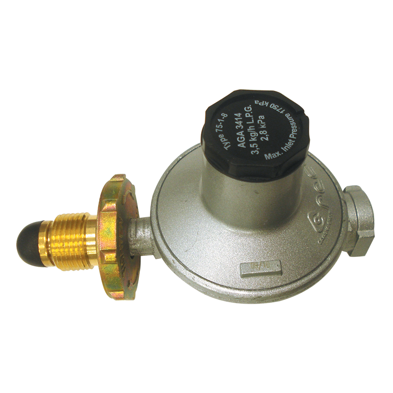LPG (Single Stage) Gas Regulator - 3.5kg/hr