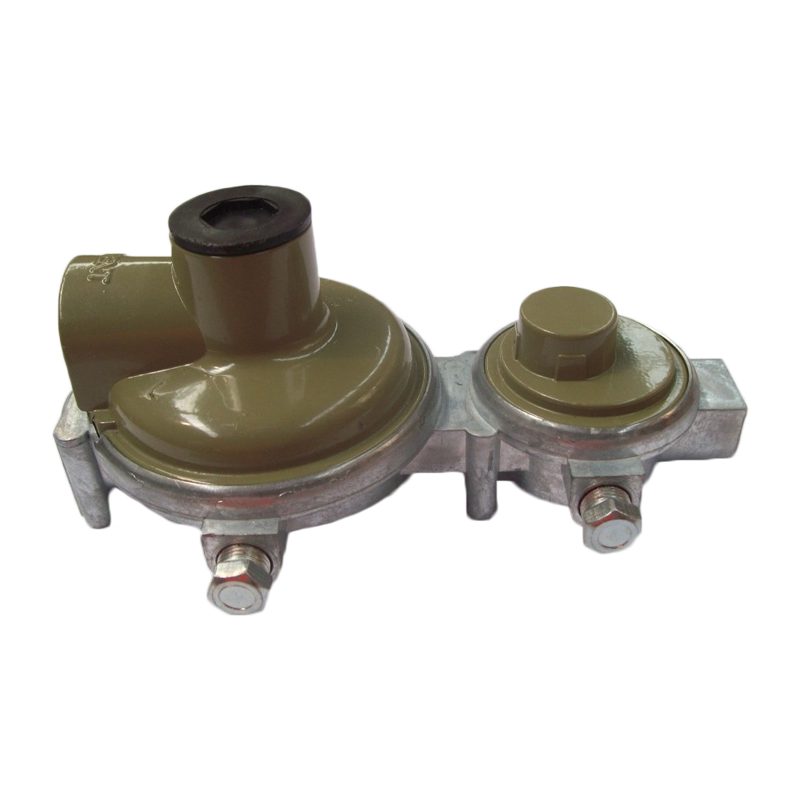 "2 STAGE HIGH-CAPACITY LPG REGULATOR 290MJ 1/4""FNPT x 3/8""FNPT"