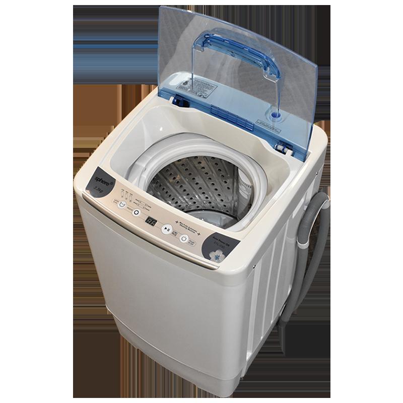 Sphere 3.3kg Automatic Mini Washing Machine - 240v
