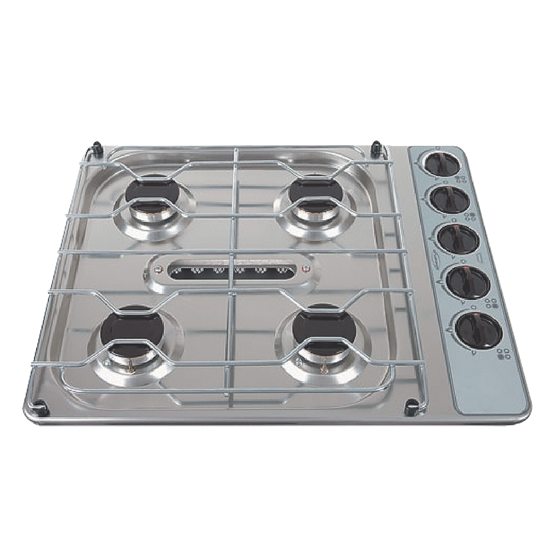 Spinflo Cooktop-HOB 8 Series 4 Burner and Grill Stainless Steel