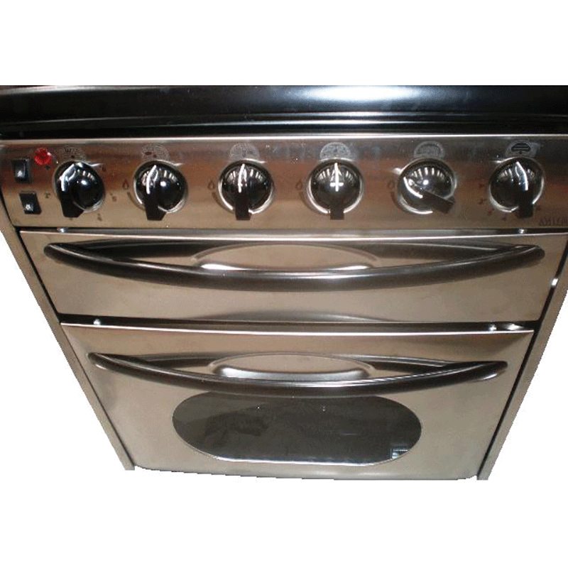 Smev 401 S/Steel Oven, 3 Gas & 1 Electric Cooktop & Grill