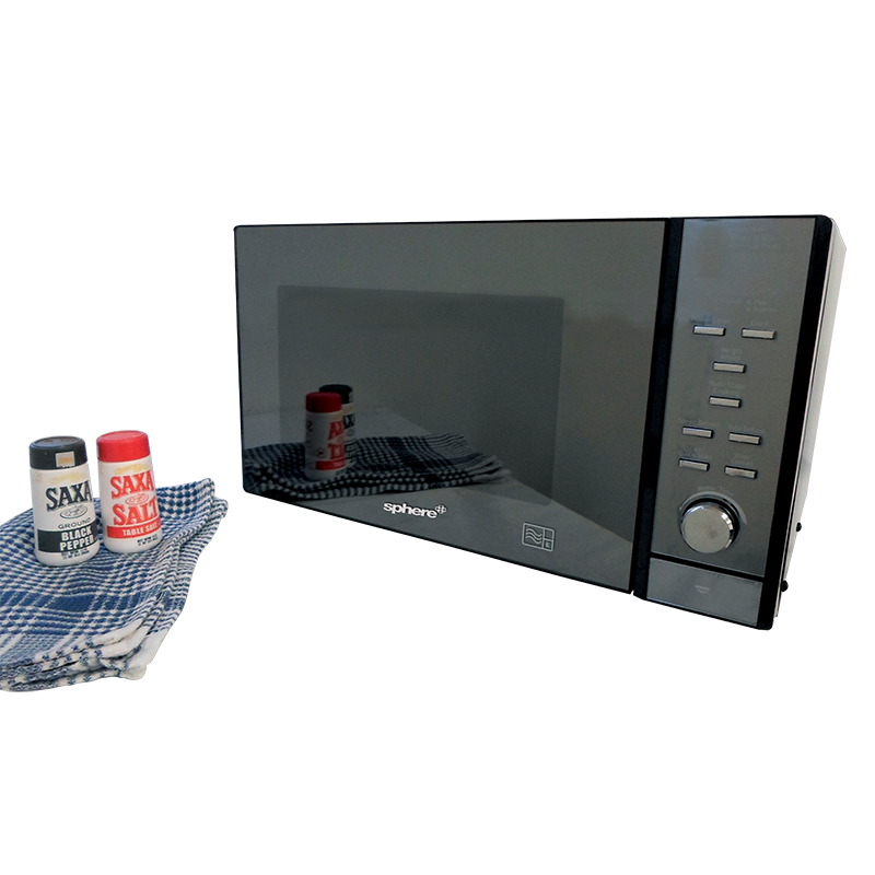 Sphere Mirrored Mircowave Oven (25L)