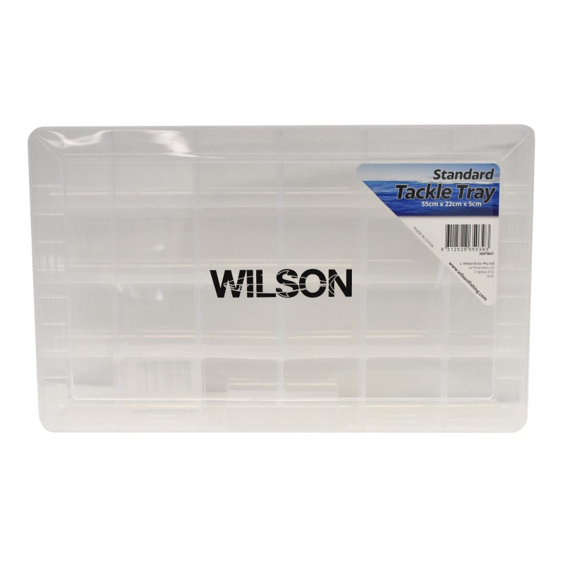Wilson Lrg Tackle Tray 24 Compartment - 355mm x 220mm x 50mm