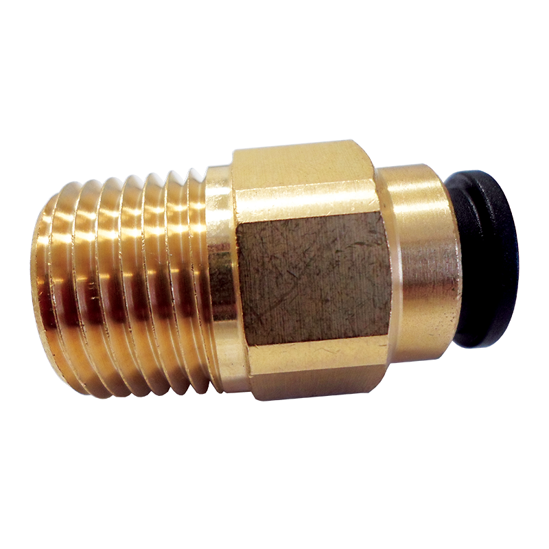 John Guest Brass Straight Adaptor (12mm x 1/2