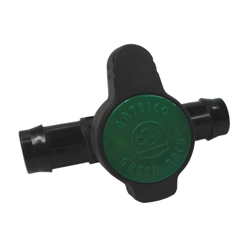 Plastic Barbed In-Line Valve 25mm