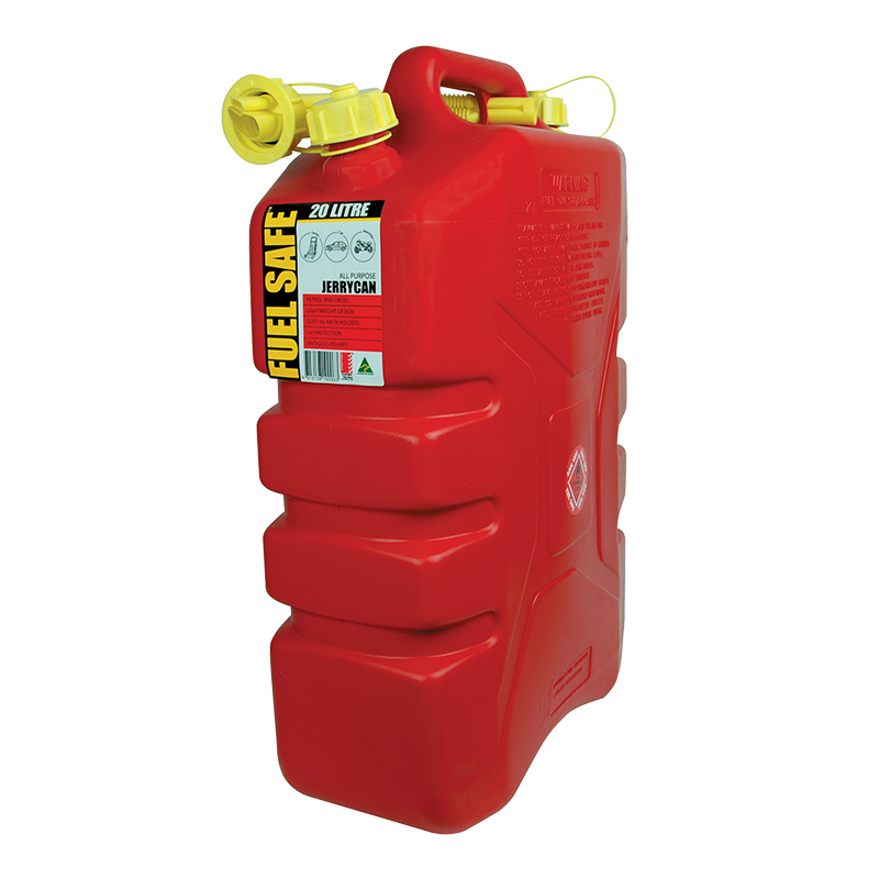 Fuel Safe All Plastic Can - 20L