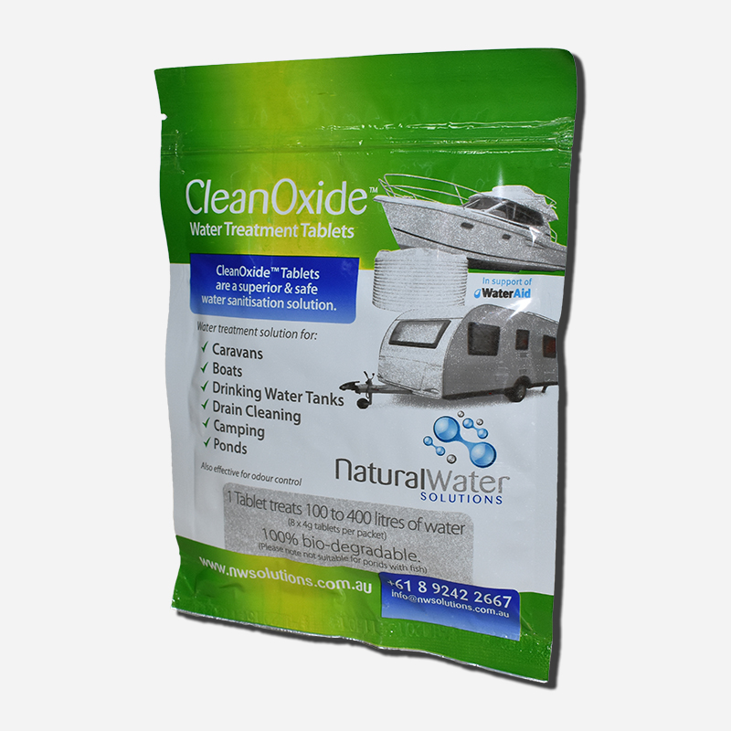 Natural Water Chlorine Dioxide Tablets