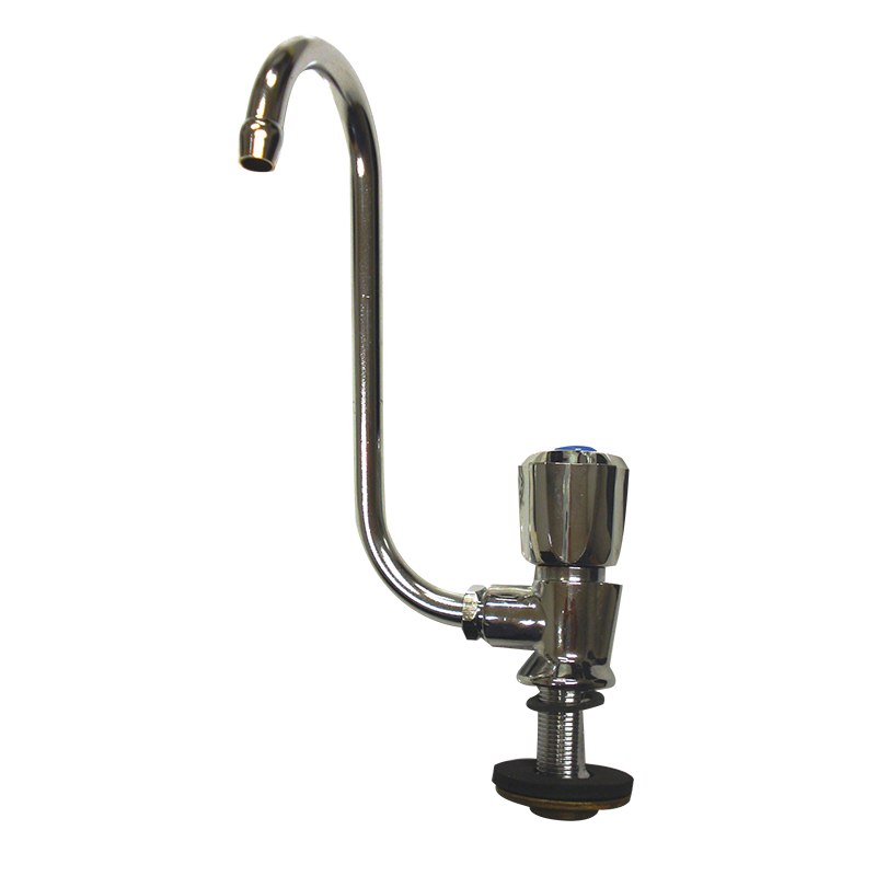 Right Hand Fold Down Chrome Faucet