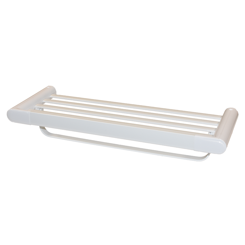 COAST Bathroom Towel Shelf WHITE - 600x220x113mm (LxDxH)