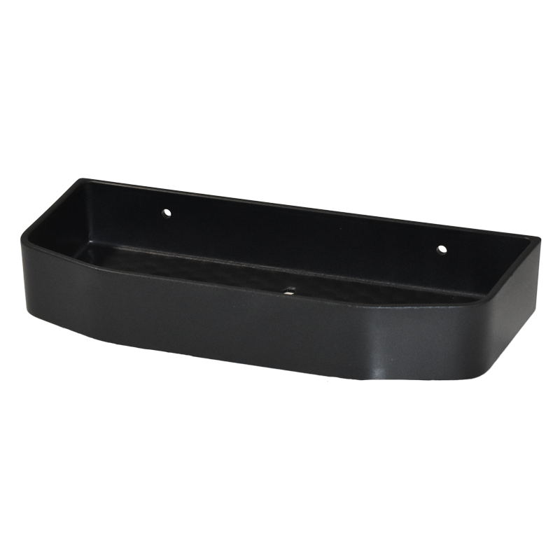 COAST Bathroom SML Commodity Basket BLACK - 250x112x40mm (LxDxH)