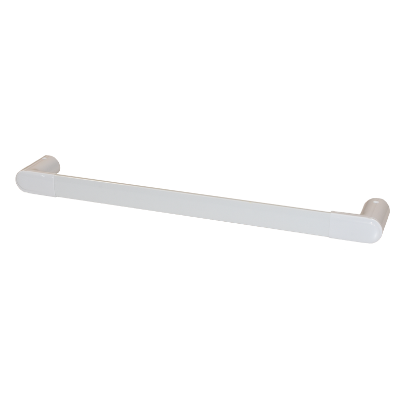 COAST Bathroom Towel Bar WHITE - 600x200x113mm (LxDxH)