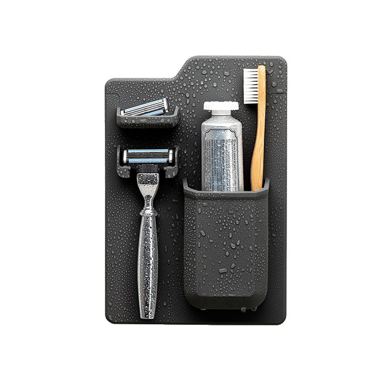 TOOLETRIES - The HARVEY - Toothbrush & Razor Holder - Charcoal