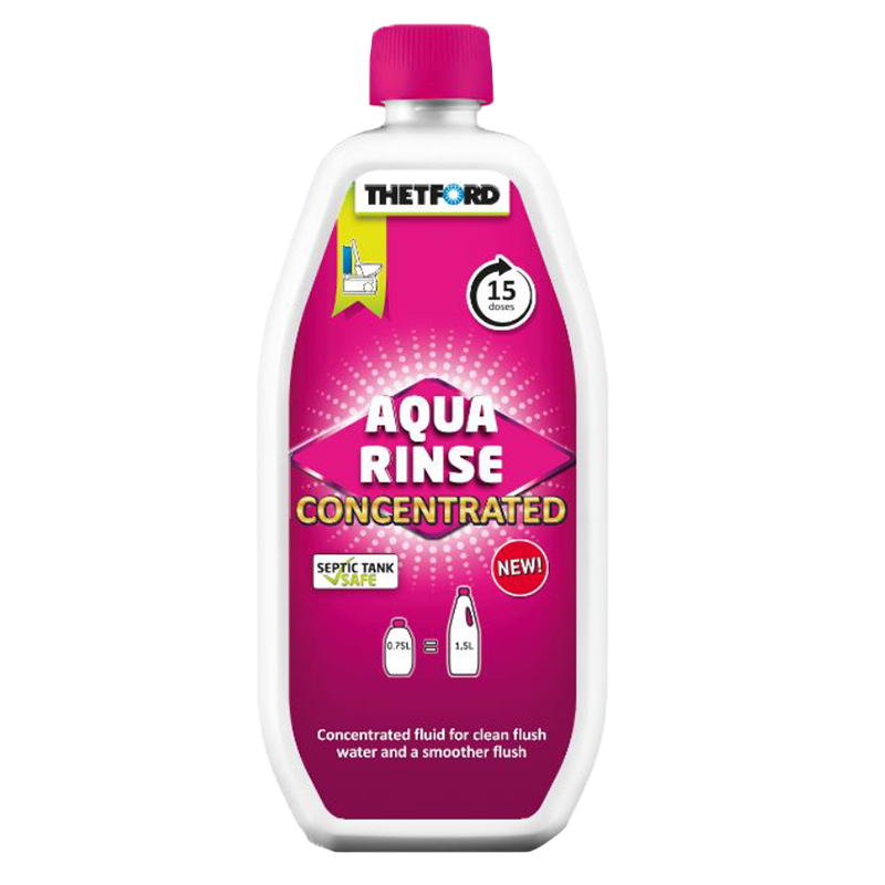 Thetford Aqua Rinse Pink Concentrated 780ml