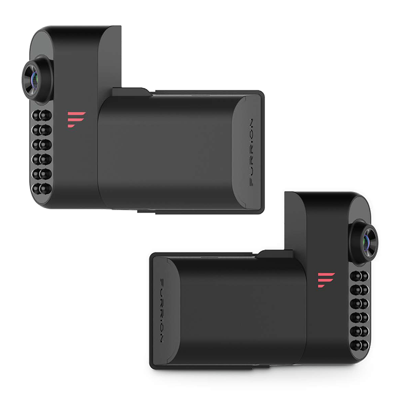 Furrion Vision S Side Cameras with Lightless Brackets