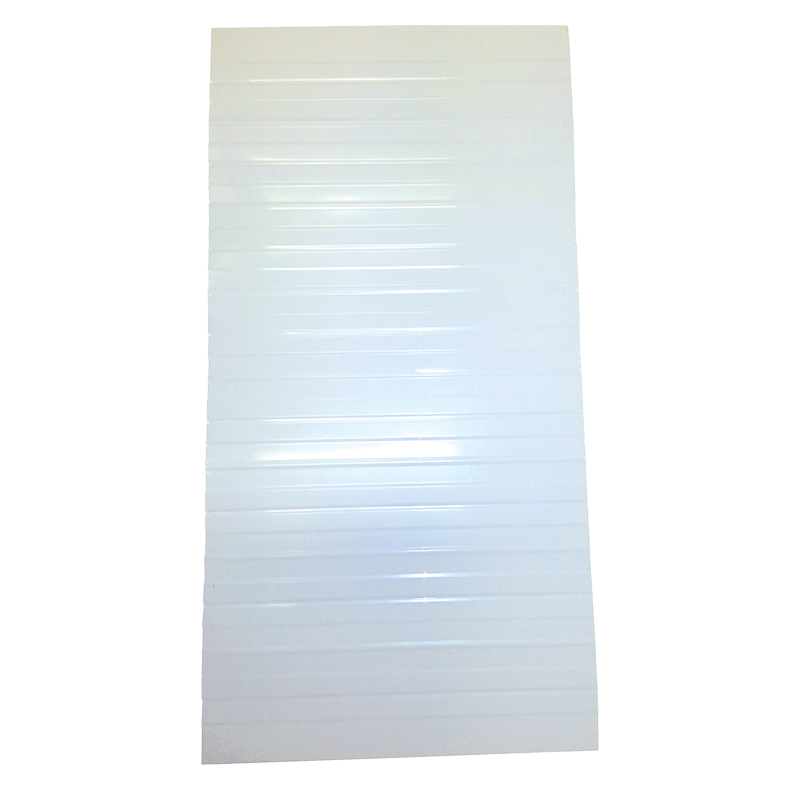 Aluminium Roof Sheeting (2.44m x 1.22m) CPF3 Violetone White