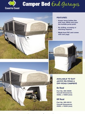 Camper Bed End Garages