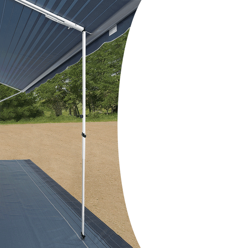 Carefree Rafter With Ground Support