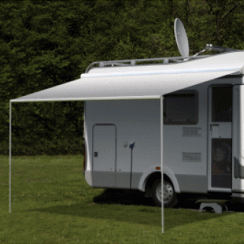 Carefree Freedom Silver Shale Fade 12V Box Awning (No Arms)