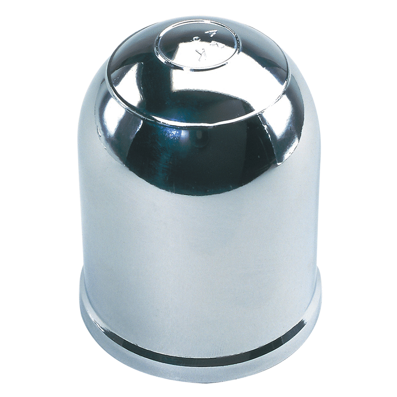 Chrome Clip-On Tow Ball Cover