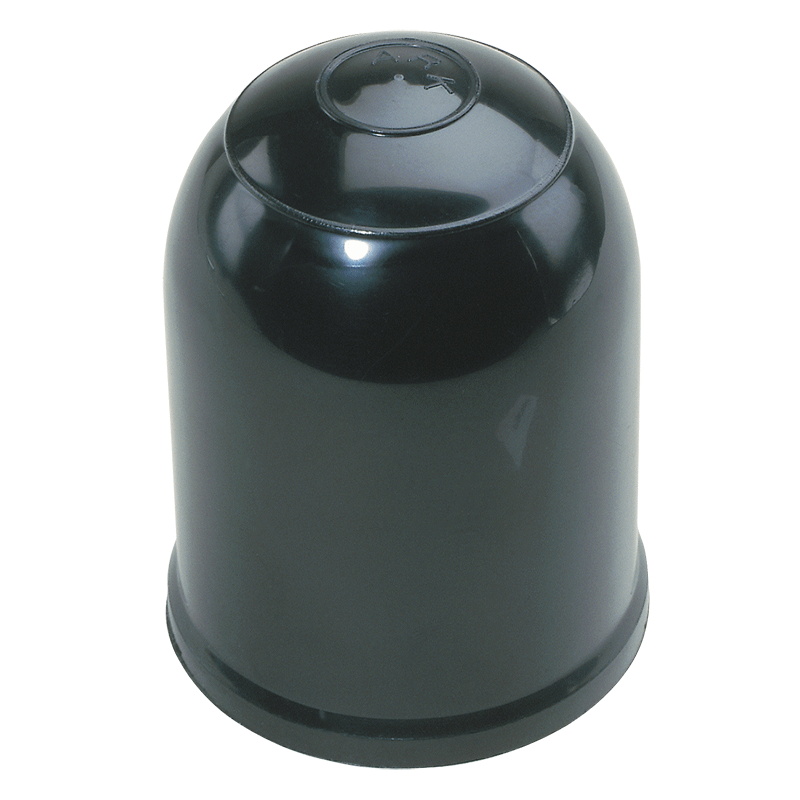 Black Clip-On Tow Ball Cover