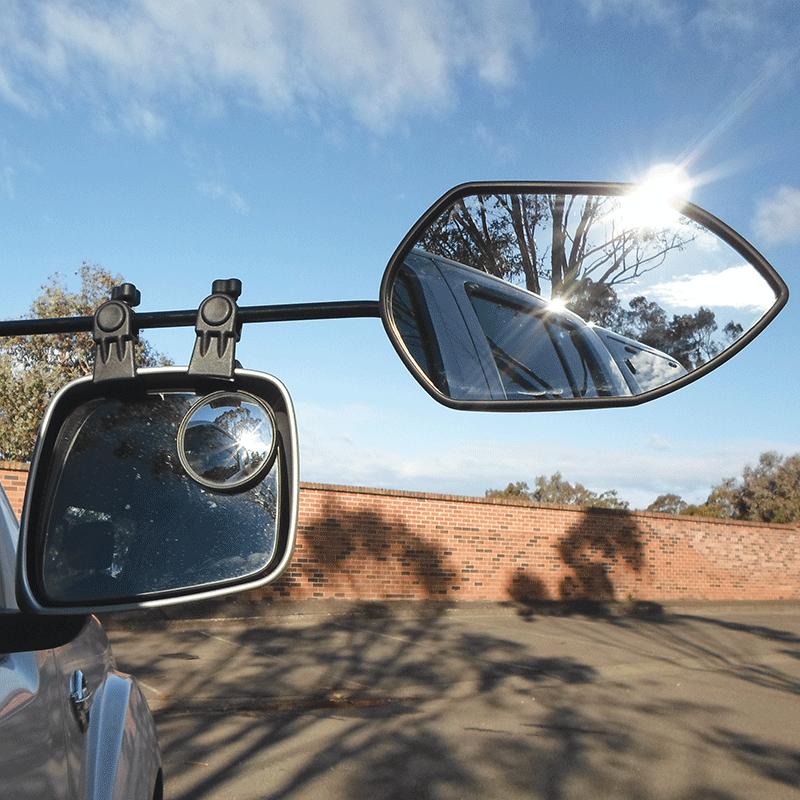 Milenco Falcon Mirror Twin Pack
